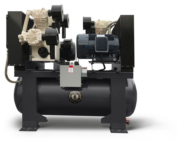 20 HP Oil-free Duplex Compressors